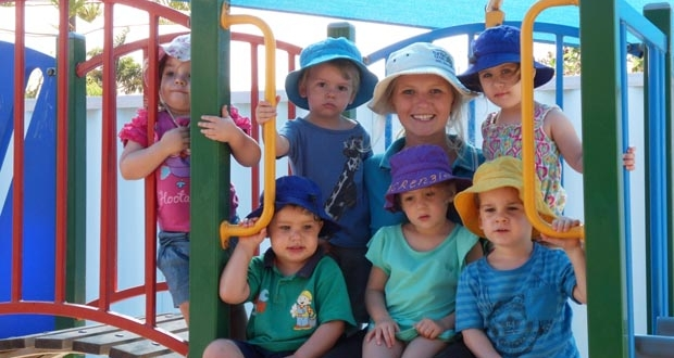 Strathalbyn child care centre playground fort