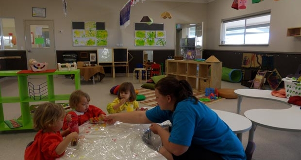 child care centre painting