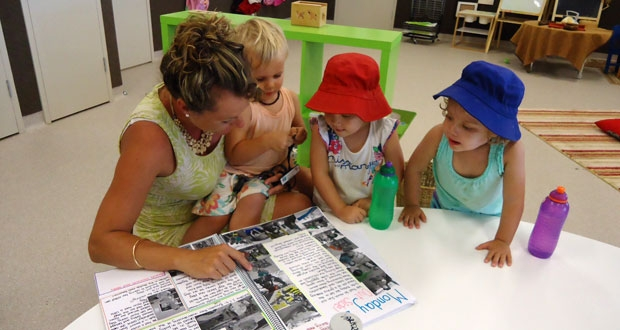 Parents get involved at child care
